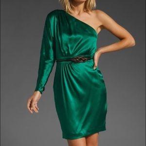 NEW Trina Turk Orient Dress in Emerald Holiday